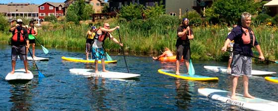 Canoe, Kayak, and SUP Lessons