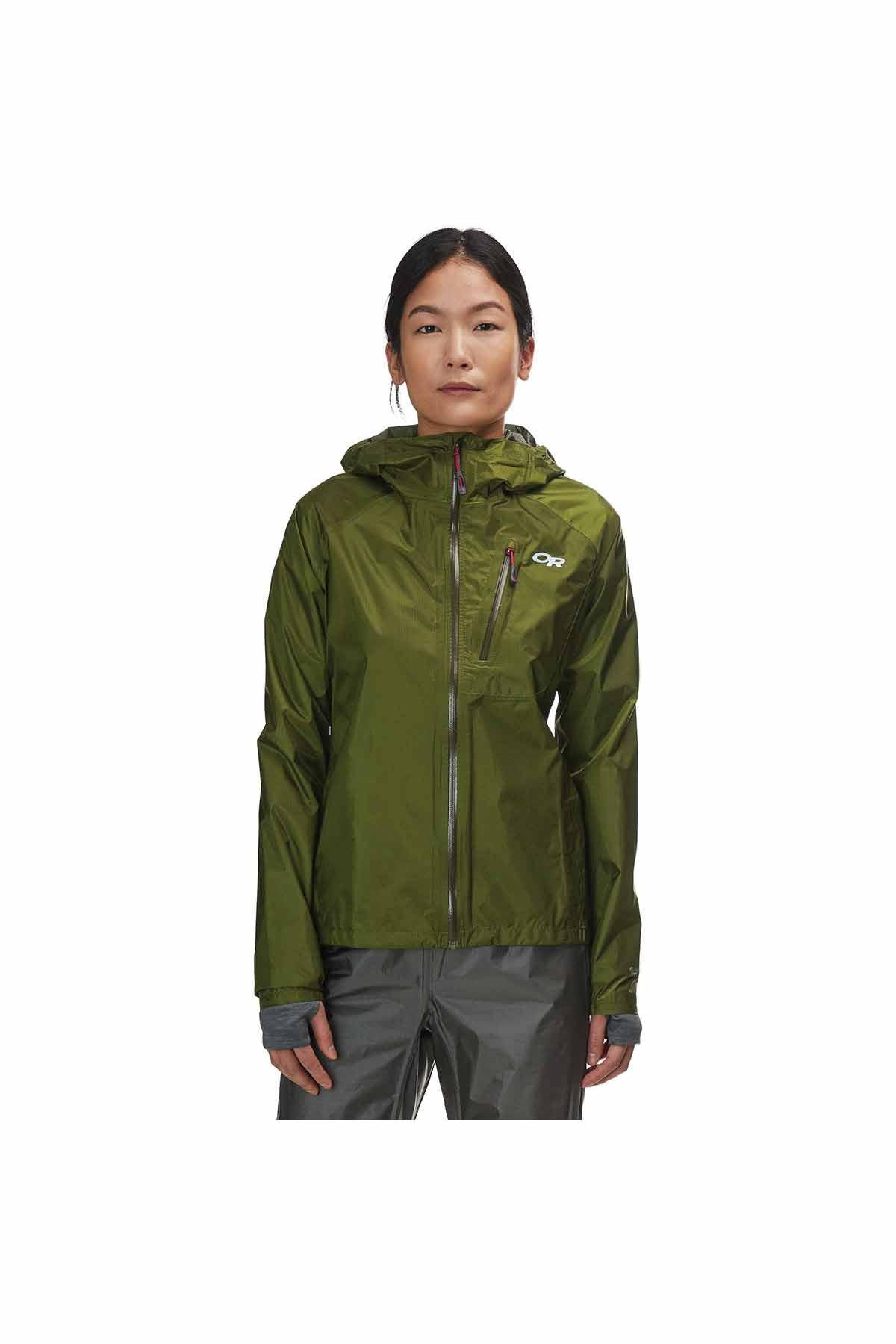 OR Women't Helium II Jacket Seaweed