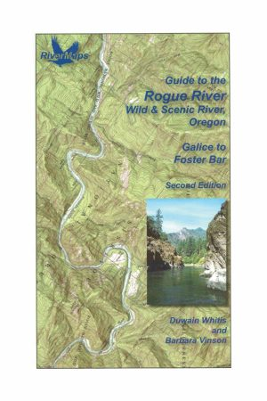 RiverMaps Rogue River 2nd Edition Guide Book